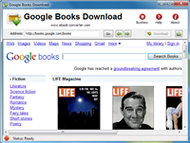 Google Books Download screenshot